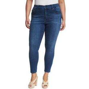 Melissa McCarthy Seven7 Stretch Slim Leg Jeans